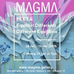 Peeta, Different Equilibria at Magma gallery