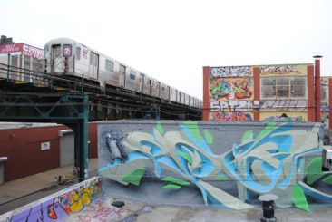 Graffiti wall: 5Points, New York City (NY), 2011