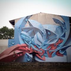 Graffiti wall: Sadali, Sardinia (IT), 2015