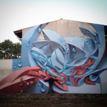Graffiti wall: Sadali, Sardinia (IT), 2015