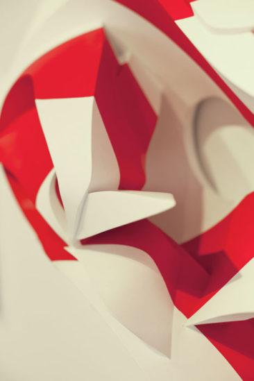 Soul Tracks, 100x40x140cm, PVC, 2011, detail