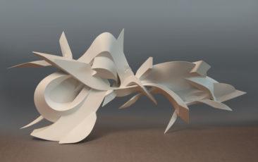 Cliquey, 115x50x20cm, PVC, 2012, dietro