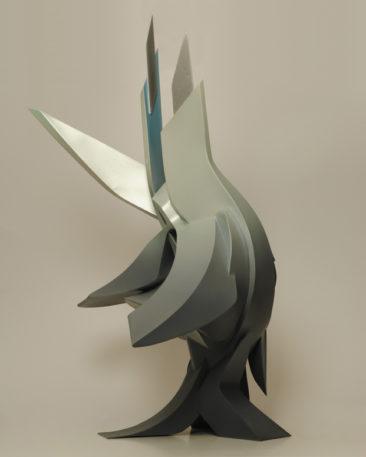 Courage, 59,5x79x41,4cm, PVC, 2011