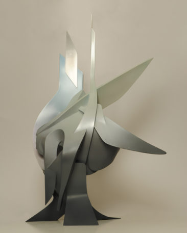 Graffiti sculpture: Courage, 59,5x79x41,4cm, PVC, 2011
