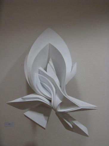 Glimpse, 100x70x45cm, PVC, 2009