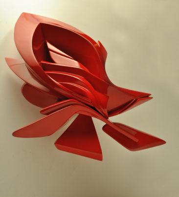 Small Glimpse, 35x25x18cm, plastica, 2012