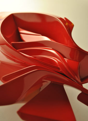 Small Glimpse, 35x25x18cm, plastic, 2012