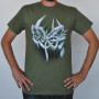 Grapevine T-shirt, military green