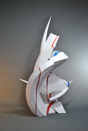 Calypso, 100x40x65cm, PVC, 2014
