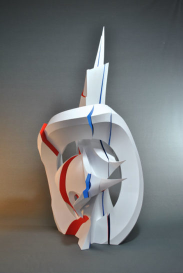 Graffiti sculpture: Calypso, 100x40x65cm, PVC, 2014