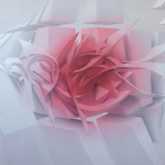 Blushing, mixed media on canvas, 100x120 cm, 2016