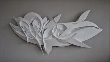Seraphim, PVC, 210x85x25 cm, 2018