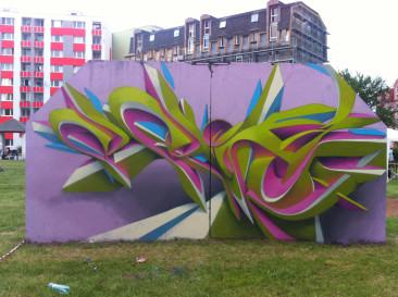 Graffiti Spis 5, Spišská Nová Ves (SK), 2012