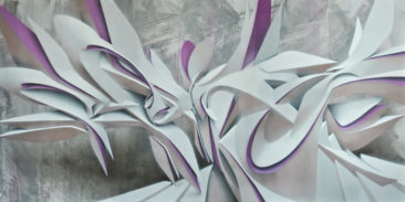 Future Ex-Wife, 100x200cm, mixed media on canvas, 2013, SOLD
