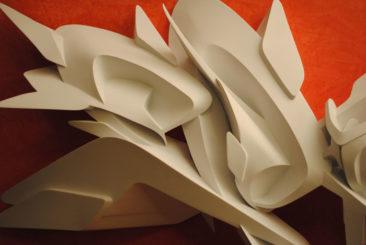 Confidence, 120x69x17cm, PVC, 2011, detail
