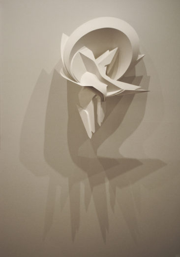 Surrender, 80x56x25cm, PVC, 2010