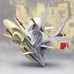 Advantage Points, 60x60 cm, oil on canvas, 2018