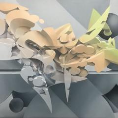 Kickstart, 120x80 cm, oil on canvas, 2018
