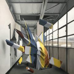 Breakfast, 130x130 cm, oil on canvas, 2018